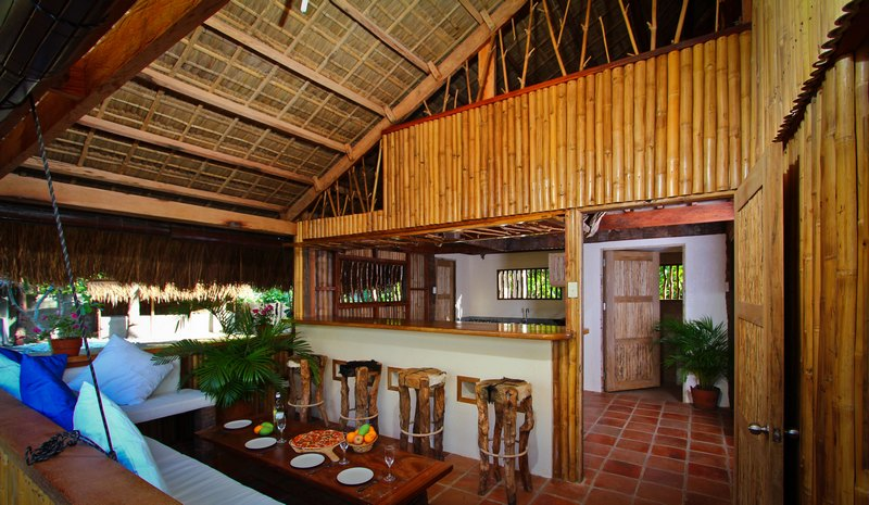 Bahay kubo with rooms related keywords bahay kubo with for Modern native house design