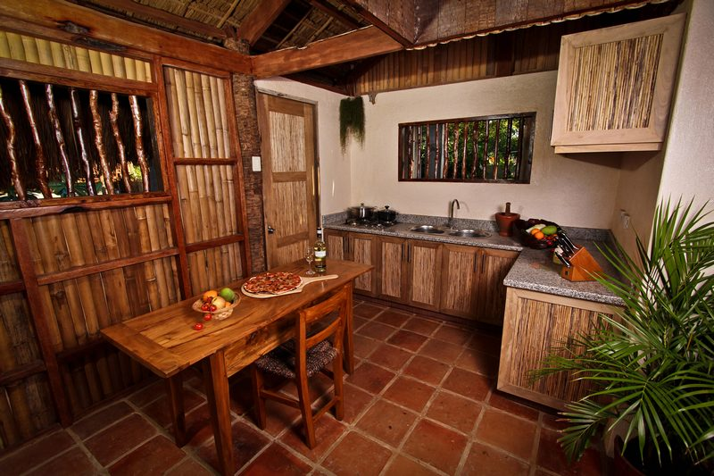 the native beach house interior design for nipa hut